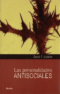 Libro LAS PERSONALIDADES ANTISOCIALES