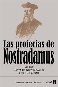 Libro LAS PROFECIAS DE NOSTRADAMUS