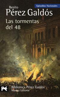 Libro LAS TORMENTAS DEL 48