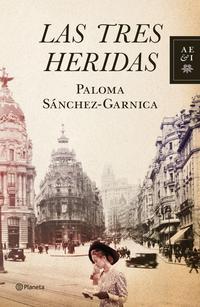 Libro LAS TRES HERIDAS