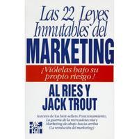 Libro LAS VEINTIDOS LEYES INMUTABLES DE MARKETING