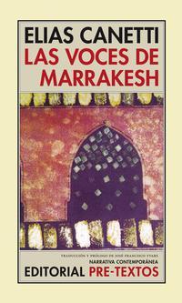 Libro LAS VOCES DE MARRAKESH: IMPRESIONES DESPUES DE UN VIAJE