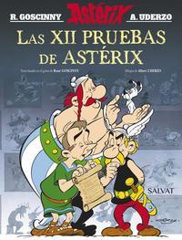 Libro LAS XII PRUEBAS DE ASTERIX