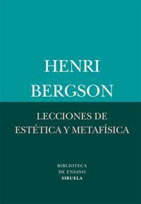 Libro LECCIONES DE ESTETICA Y METAFISICA