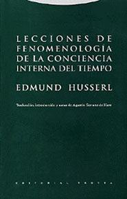 Libro LECCIONES DE FENOMENOLOGIA DE LA CONCIENCIA INTERNA DEL TIEMPO