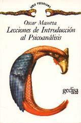 Libro LECCIONES DE INTRODUCCION AL PSICOANALISIS