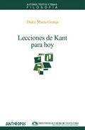 Libro LECCIONES DE KANT PARA HOY