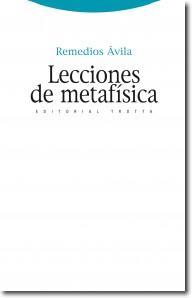 Libro LECCIONES DE METAFISICA