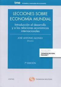 Libro LECCIONES SOBRE ECONOMIA MUNDIAL 2015