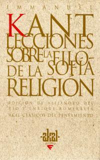 Libro LECCIONES SOBRE LA FILOSOFIA DE LA RELIGION