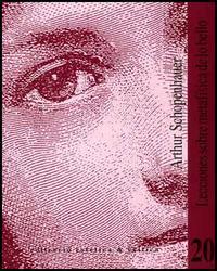 Libro LECCIONES SOBRE METAFISICA DE LO BELLO