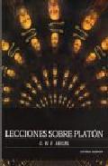 Libro LECCIONES SOBRE PLATON