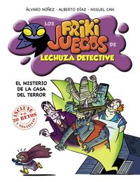 Libro LECHUZA DETECTIVE: EL MISTERIO DE LA CASA DEL TERROR