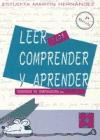 Libro LEER PARA COMPRENDER Y APRENDER 1