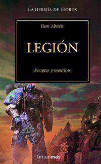 Libro LEGION: SECRETOS Y MENTIRAS