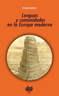 Libro LENGUAS Y COMUNIDADES EN LA EUROPA MODERNA