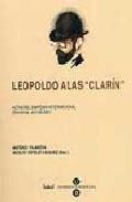 Libro LEOPOLDO ALAS CLARIN