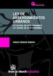 Libro LEY DE ARRENDAMIENTOS URBANOS