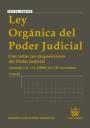 Libro LEY ORGANICA DEL PODER JUDICIAL: CON TODAS LAS DISPOSICI ONES DEL PODER JUDICIAL. AJUSTADA A LA L.O 1/2009 DE 3 DE NOVIEMBRE