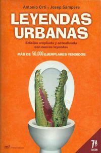Libro LEYENDAS URBANAS EN ESPAÑA