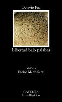 Libro LIBERTAD BAJO PALABRA