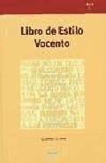 Libro LIBRO DE ESTILO VOCENTO