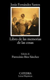 Libro LIBRO DE LAS MEMORIAS DE LAS COSAS