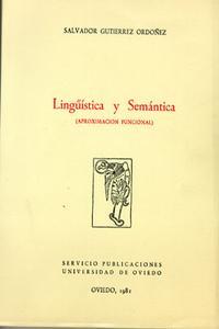 Libro LINGÈISTICA Y SEMANTICA