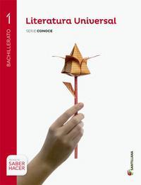 Libro LITERATURA UNIVERSAL 1º BACHILLERATO SERIE CONOCE ED. 2015