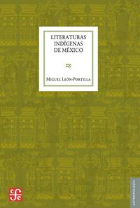 Libro LITERATURAS INDIGENAS DE MEXICO