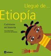 Libro LLEGUE DE ETIOPIA: CUENTAME MI HISTORIA