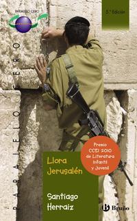 Libro LLORA JERUSALEN