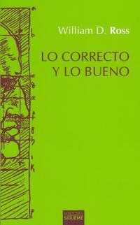 Libro LO CORRECTO Y LO BUENO