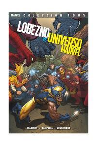 Libro LOBEZNO VS UNIVERSO MARVEL