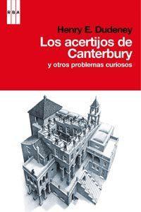 Libro LOS ACERTIJOS DE CANTERBURY