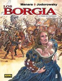 Libro LOS BORGIA VOL. 4: TODO ES VANIDAD