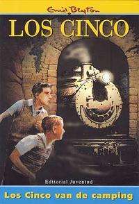 Libro LOS CINCO VAN DE CAMPING