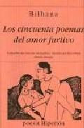 Libro LOS CINCUENTA POEMAS DEL AMOR FURTIVO