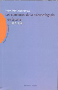 Libro LOS COMIENZOS DE LA PSICOPEDAGOGIA EN ESPAÑA