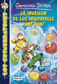 Libro LOS COSMORRATONES 3: LA INVASIÓN DE LOS INSUFRIBLES PONF PONF