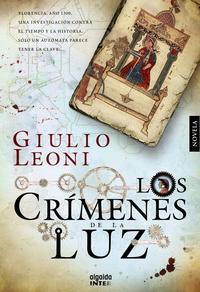 Libro LOS CRIMENES DE LA LUZ