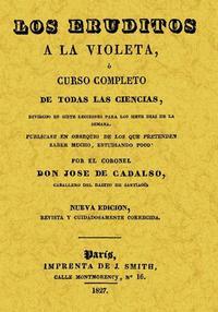 Libro LOS ERUDITOS A LA VIOLETA