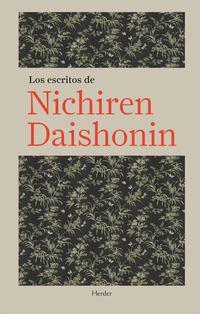 Libro LOS ESCRITOS DE NICHIREN DAISHONIN