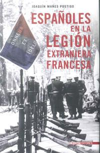 Libro LOS ESPAÑOLES EN LA LEGION EXTRANJERA