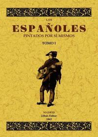 Libro LOS ESPAÑOLES PINTADOS POR SI MISMOS