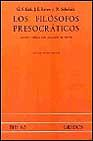 Libro LOS FILOSOFOS PRESOCRATICOS