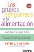 Libro LOS GRUPOS SANGUINEOS Y LA ALIMENTACION