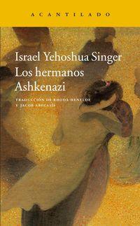 Libro LOS HERMANOS ASHKENAZI