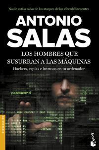 Libro LOS HOMBRES QUE SUSURRAN A LAS MAQUINAS
