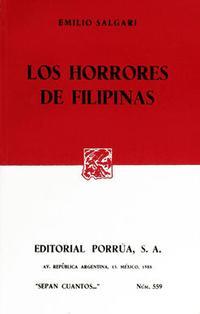 Libro LOS HORRORES DE FILIPINAS